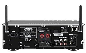 Pioneer X-HM72-S Micro-HiFi System (2x 50 Watt, WiFi, Bluetooth, DLNA, Spotify Connect, App Control, 8,9 cm (3,5 Zoll) Display) silber