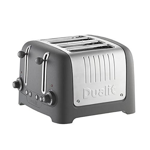 Dualit Lite Stoneware Granite Finish Lite Range 4-Slot Toaster