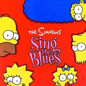 Original album cover of The Simpsons Sing the Blues by Various Artists