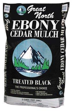 Ameriscape 55557 Ebony Cedar Mulch
