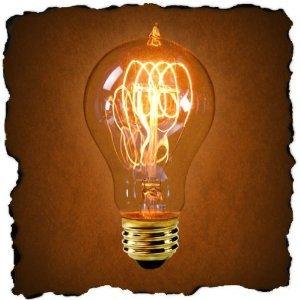 60 Watt - 1920 Edison Style - Nostalgic Antique Incandescent Light Bulb - FerroWatt F1920-4