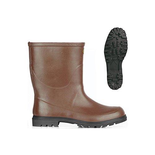 Stivali in gomma - 7133-tronchetto Alpina - Brown - 36