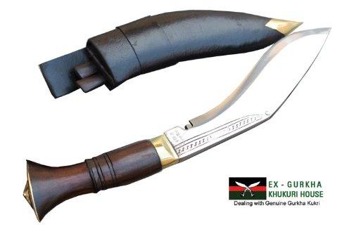 "8"" Blade Mini Jungle Kukri - Authentic Gurkha Khukuri - Handmade Knife By Ex Gurkha Khukuri House in Nepal"