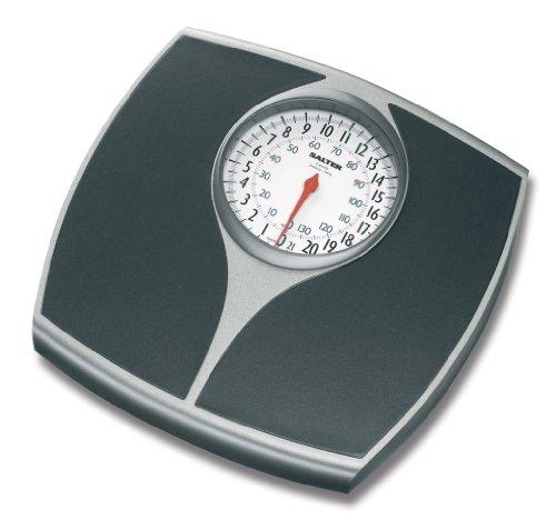 Speedo Mechanical Scale 148bksvdr - Black & Silver By Salter