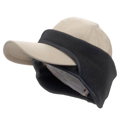 Fleece Cap Ear Band - Black