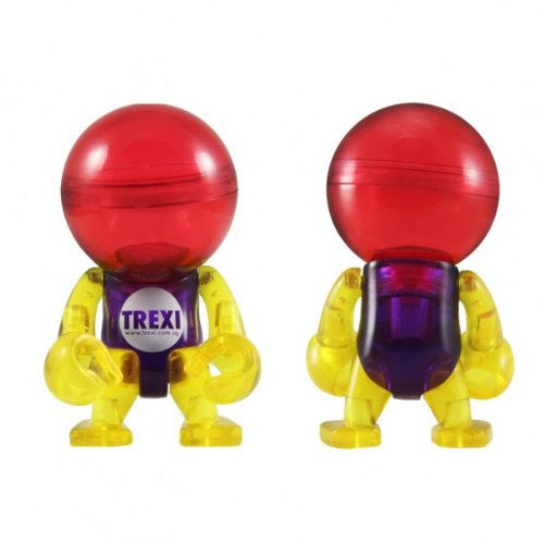Colour Clear Trexi Figure
