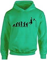 Evolution of Basketball, Sports Jordan inspirert Kinder Gedruckt Hoody - Pullover
