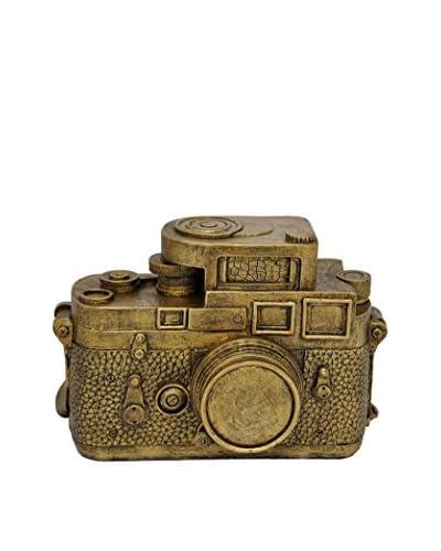 Three Hands Gold Camera Money Bank