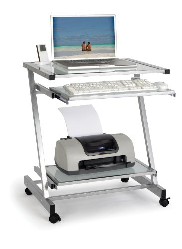 Eliza Tinsley TWS-9367A Roma Glass Workstation