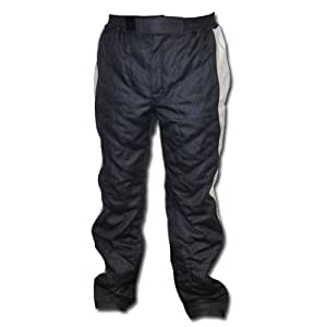 K1 Race Gear 30083120 Black/Silver Large Nomex Grid 1 SFI Rated Fire Pants
