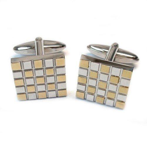 Unique (Mens) Titanium Square Cufflinks