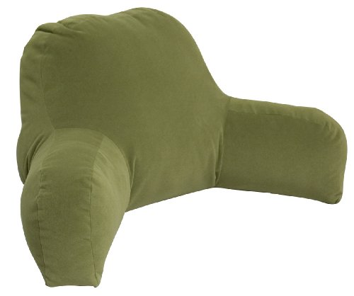 Greendale Home Fashions Bed Rest Pillow Hyatt, Moss