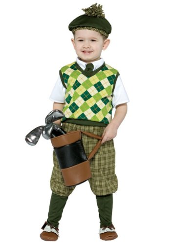[Future Golfer Infant/Toddler Costume] (Baby Golfer Costume)