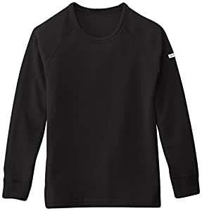 Odlo Kinder Jungen Shirt Long Sleeve Crew Neck Warm Kids, Black, 80, 10459