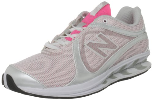 New Balance Women's WW855PK Pink/Silver Trainer 6 UK, 39 EU, 8 US B