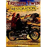 Triumph Twin Restoration ~ Roy Hunt Bacon