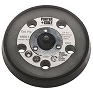 PORTER-CABLE 15001 5-Inch Hook and Loop Contour Pad for Sanders