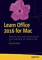 Learn Office 2016 for Mac, 2nd Edition Front Cover