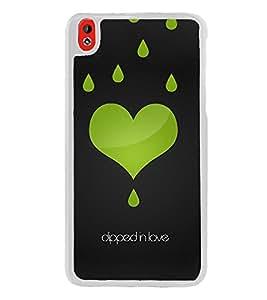 Dipped In Love 2D Hard Polycarbonate Designer Back Case Cover for HTC Desire 816 :: HTC Desire 816 Dual Sim :: HTC Desire 816G Dual Sim