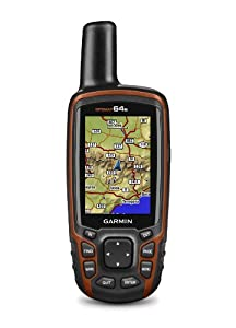 Garmin GPSMAP 64s Worldwide with High-Sensitivity GPS and GLONASS Receiver by Garmin