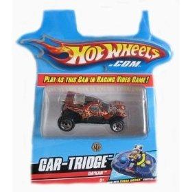 Buy Low Price Mattel Hotwheels Turbo Driver Da'Kar Car-Tridge Figure (B001FYOEYS)