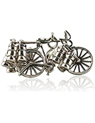Pendant In 925 Sterling Silver Mumbai Dabbawallah Cycle Charm Unisex By Fourseven   Gifts For Her   Gifts For...