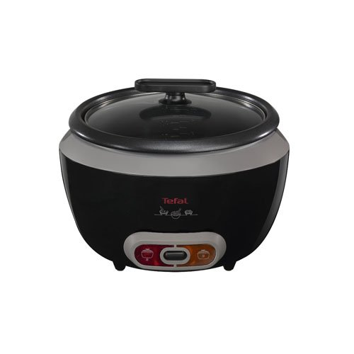 tefal-cooltouch-rice-cooker-rk1568uk-steam-basket-glass-lid-removable-bowl-black