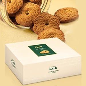 Carli Marsala Torchietti Cookies 300 Gram (10.6 oz) Box