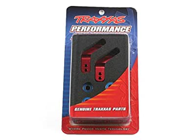 Traxxas Anodized 6061-T6 Aluminum Rear Stub Axle Carriers (Pair)