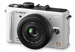 Panasonic Lumix DMC-GF1 12.1MP Micro Four-Thirds Interchangeable Lens Digital Camera with LUMIX G 20mm f/1.7 Aspherical Lens (Silver) + WSP Mini Camera Tripod.