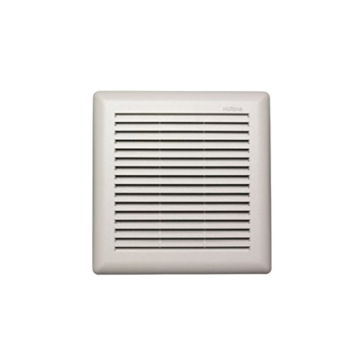 Nutone Model 671R Fan, 90 Cfm 3.0 Sones, White Grille, With 4-Inch Duct front-453960