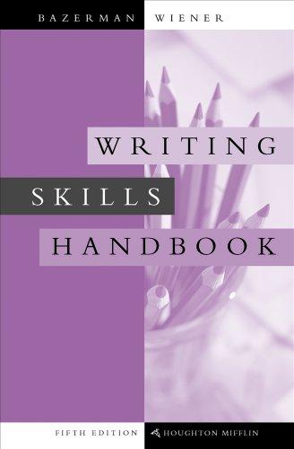 Writing Skills Handbook (with 2009 MLA Update Card)