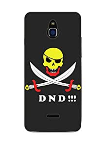Happoz Infocus M2 Cases Back Cover Mobile Pouches Shell Hard Plastic Graphic Armour Premium Printed Designer Cartoon Girl 3D Funky Fancy Slim Graffiti Imported Cute Colurful Stylish Boys D398