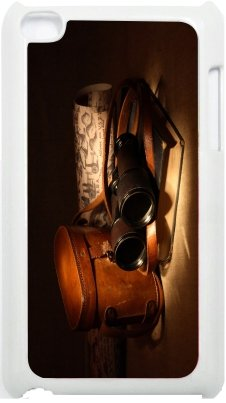 Rikki Knighttm Vintage Old Binoculars With Bag Design Ipod Touch White 4Th Generation Hard Shell Case