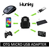 Intex Aqua Glory Compatible On The Go OTG Adapter ( Black ) With 1 Year Warranty
