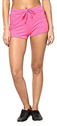 Only Women'S Casual Shorts (_5712064766598_Pink Glo_Medium_)