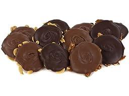 Door County Confectionary Chocolate Bear Paw, Milk Chocolate Almond