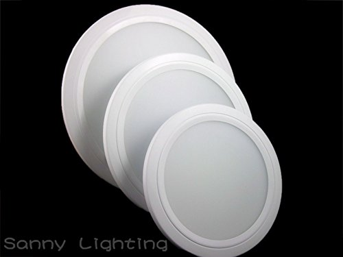 Super Bargain!!! New Model!! 20 W Recessed Led Round Panel Light Ceiling Downlight Lamp Warm / Cool White In Home