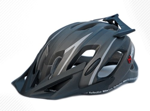 Prowell X9 Casco da Mountain Bike (Matt nero, Medium)