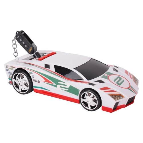 Fast Lane Key Car Super Car - White