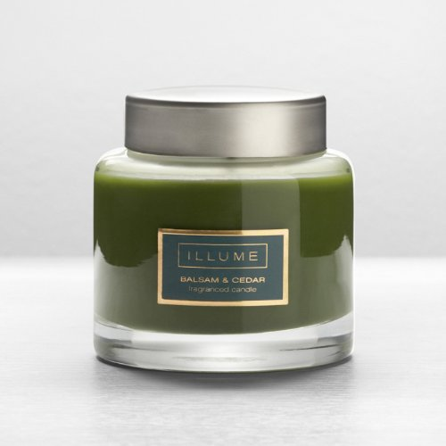 Illume 60-Hour Essential Jar Candle Balsam & Cedar