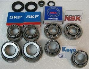 F5M22 Km206 Km203 Km208 5-Speed Manual Transmission Rebuild Kit Fits '89+ Mitsubishi Hyundai Dodge Eagle Plymouth