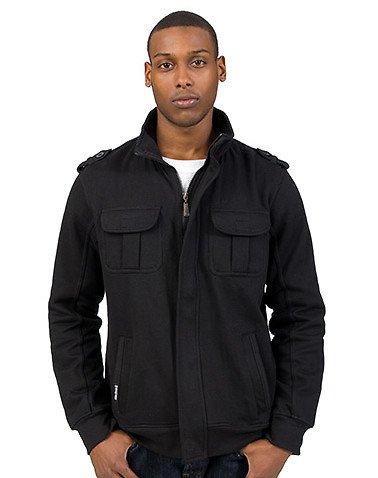 Akademiks Fleece Jacket Black L
