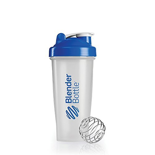 Blenderbottle Classic Shaker Bottle, 28-Ounce, Clear/Blue Color: Clear/Blue Size: 28-Ounce Home & Kitchen
