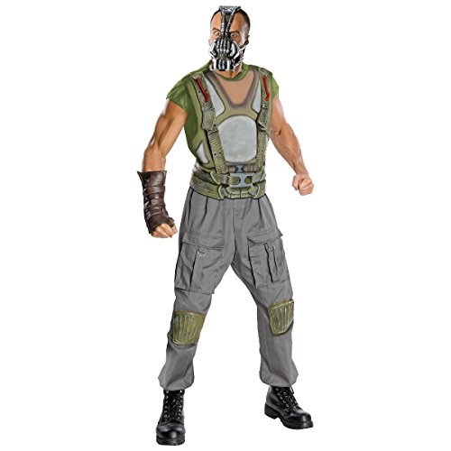 [GSG Adult Bane Costume Man The Dark Knight Rises Halloween Fancy Dress] (Cabaret Costumes For Men)