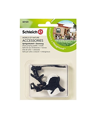 Schleich Show Jumping Saddle and Bridle 42123 - 1