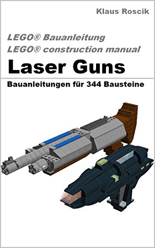 download laser guns baupl ne f r 344 bausteine lego bauanleitung construction manual. Black Bedroom Furniture Sets. Home Design Ideas