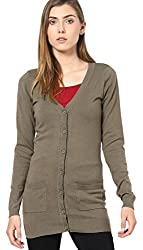 Only Women'S Casual Cardigan (_5702809873681_Brown_Large_)
