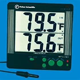 Large Display Traceable Digital Thermometers