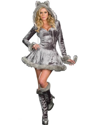 Big Bad Sexy Wolf Xlg Adult Womens Costume